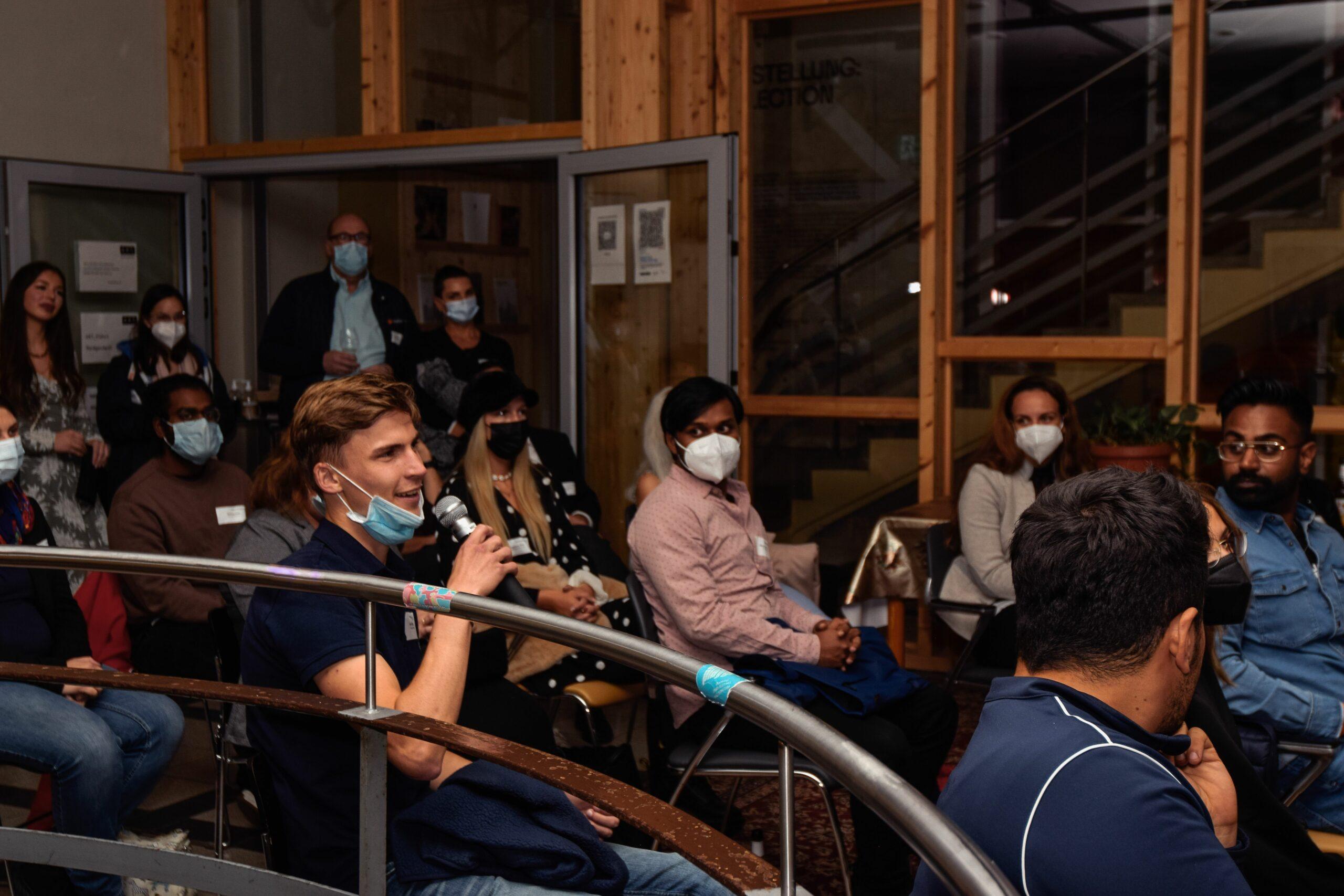 Impressionen von der Start-up Night #04 Foto: Johanna Erckert für WFG